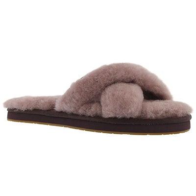 Lds Abela dusk sheepskin slipper