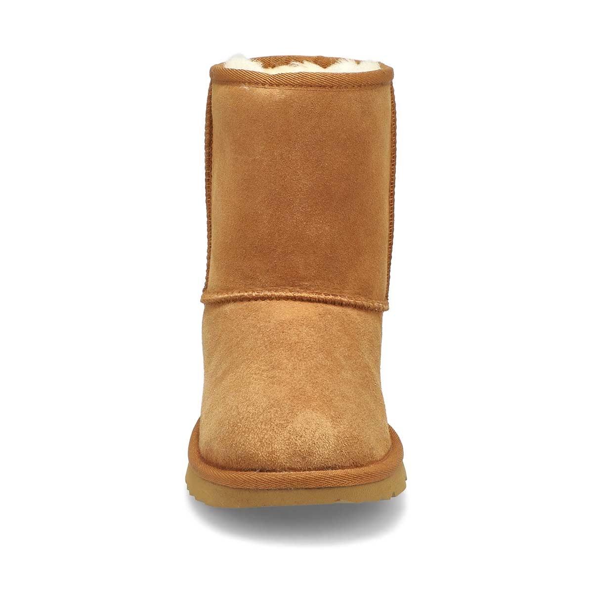 Grls Classic II chestnut sheepskin boot