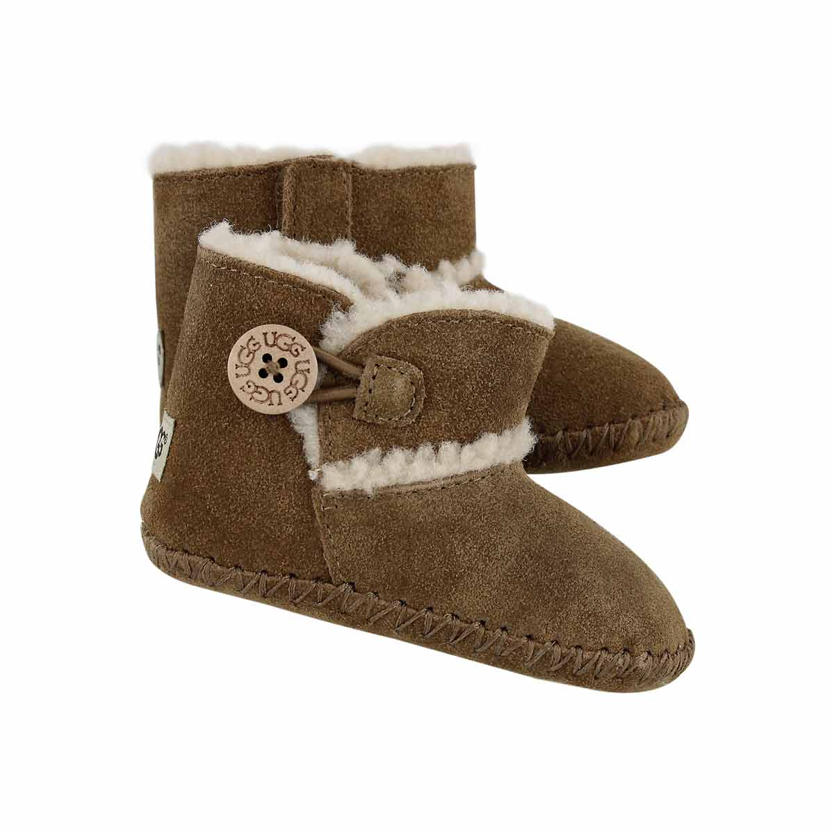 Inf-g Lemmy chestnut fashion boot
