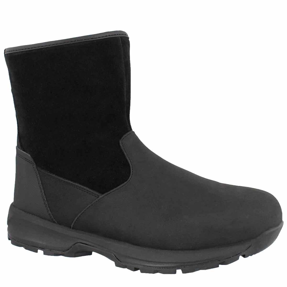 Men's BARCHAN black zip up wtpf ankle boots