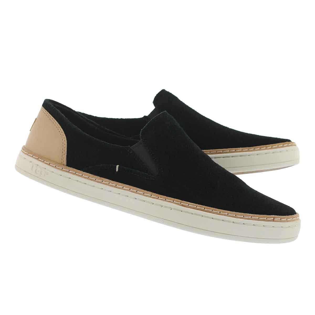 Lds Adley Perf black casual slipon