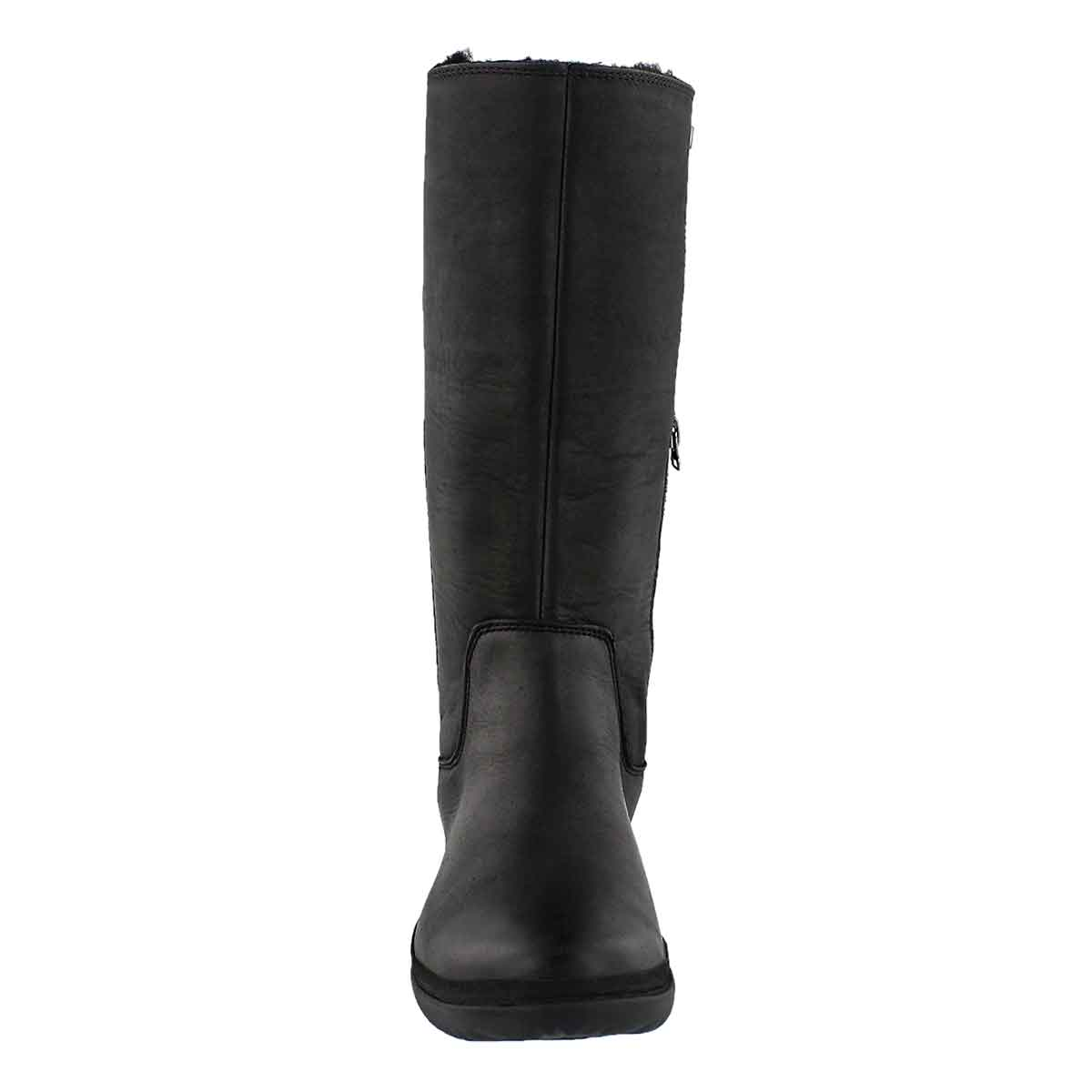 Lds Janina black wtpf knee high boot