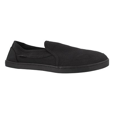 Lds Pair O Dice black slip on shoe