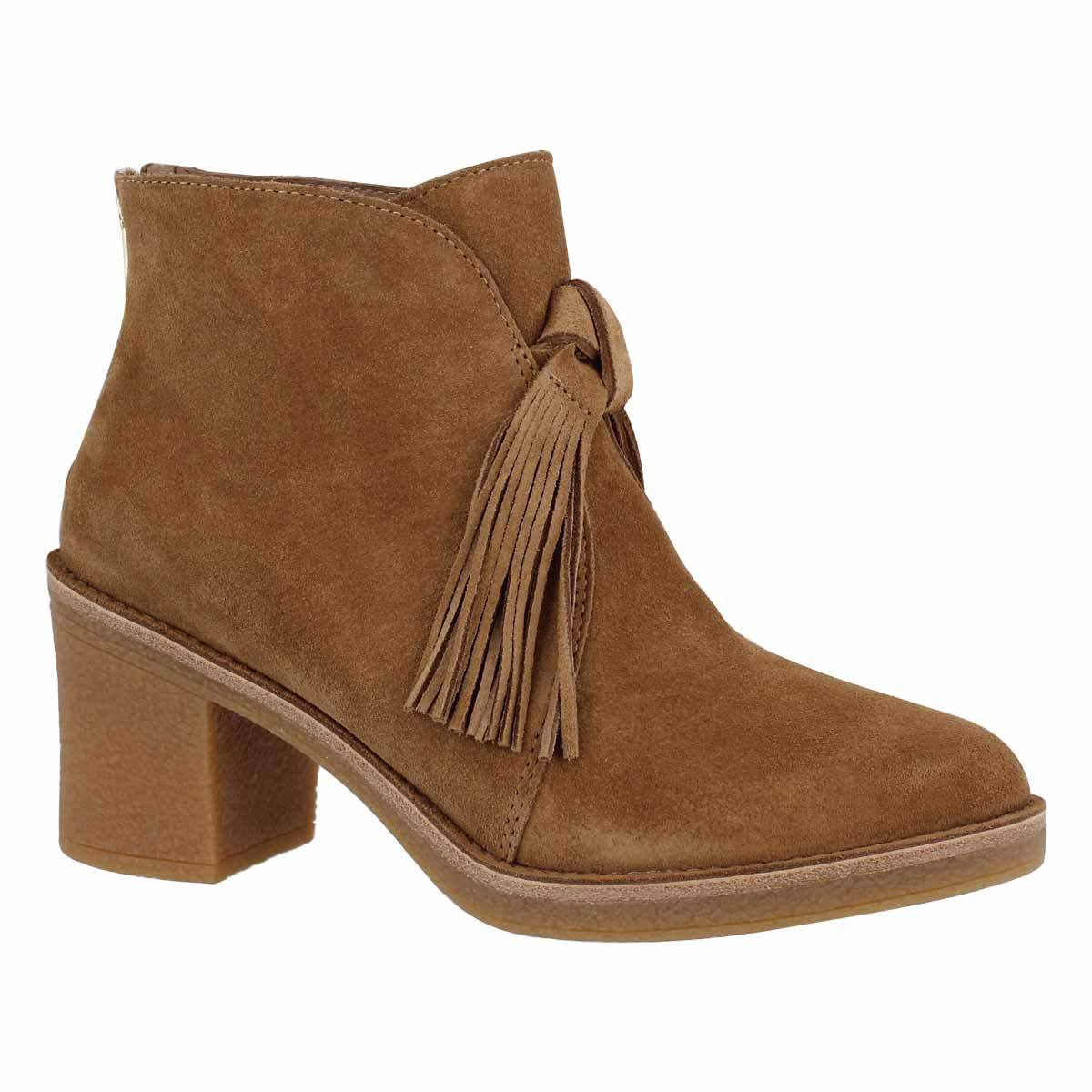 Women's CORIN chestnut casual ankle boots
