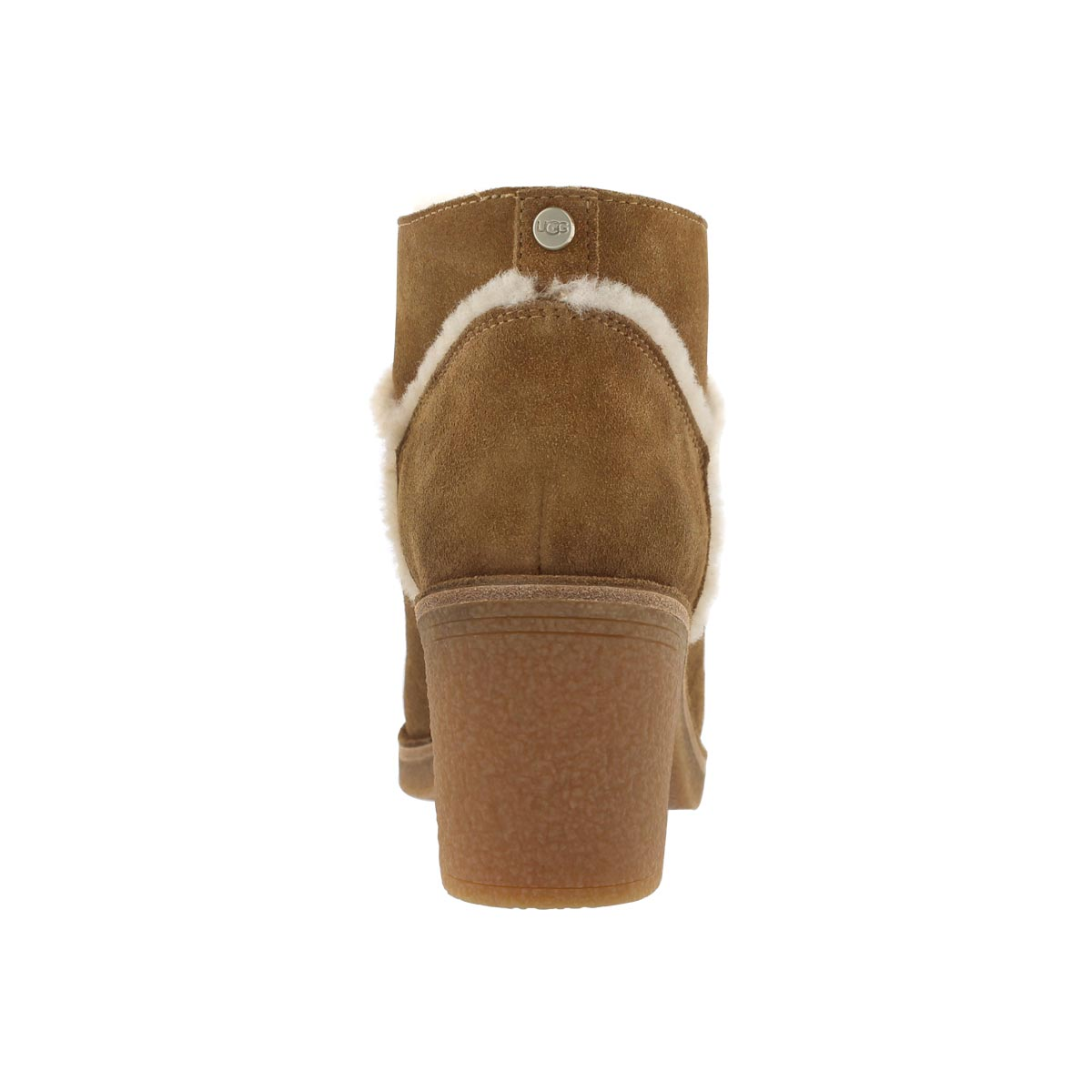 Lds Kasen chestnut casual ankle boot