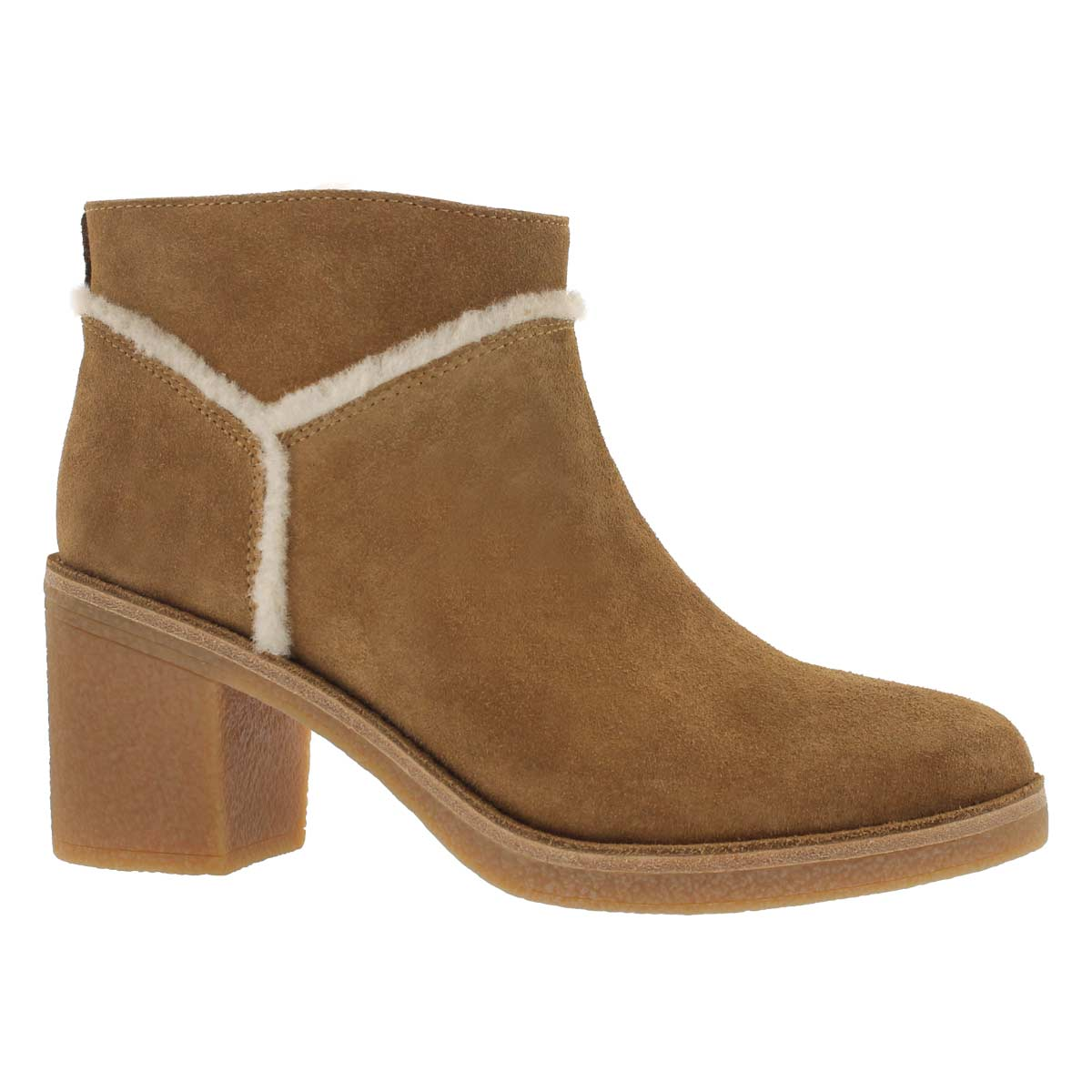 Women's KASEN chestnut casual ankle boots