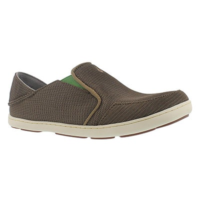 OluKai Men's NOHEA MESH mustang slip on casual shoes