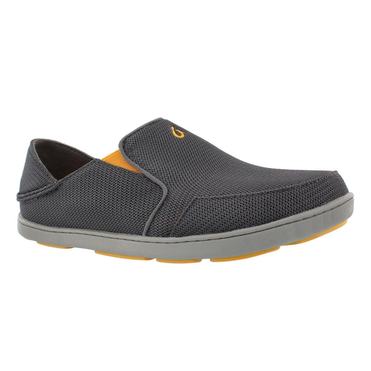Mns NoheaMesh dk shdw slipon casual shoe