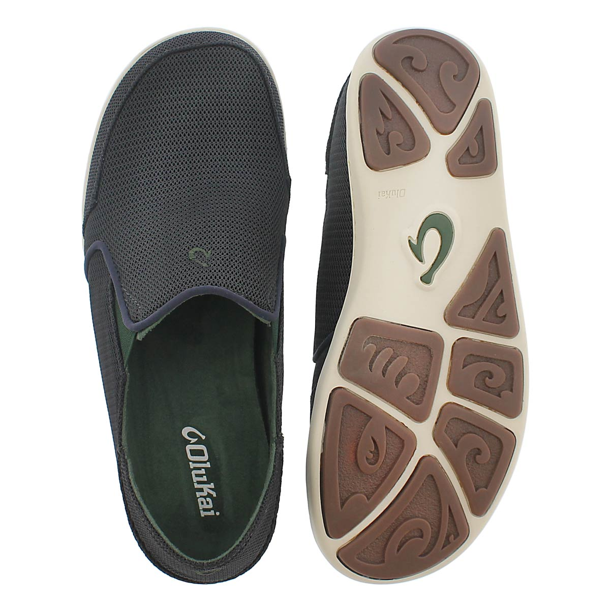Mns NoheaMesh carbon slip on casual shoe