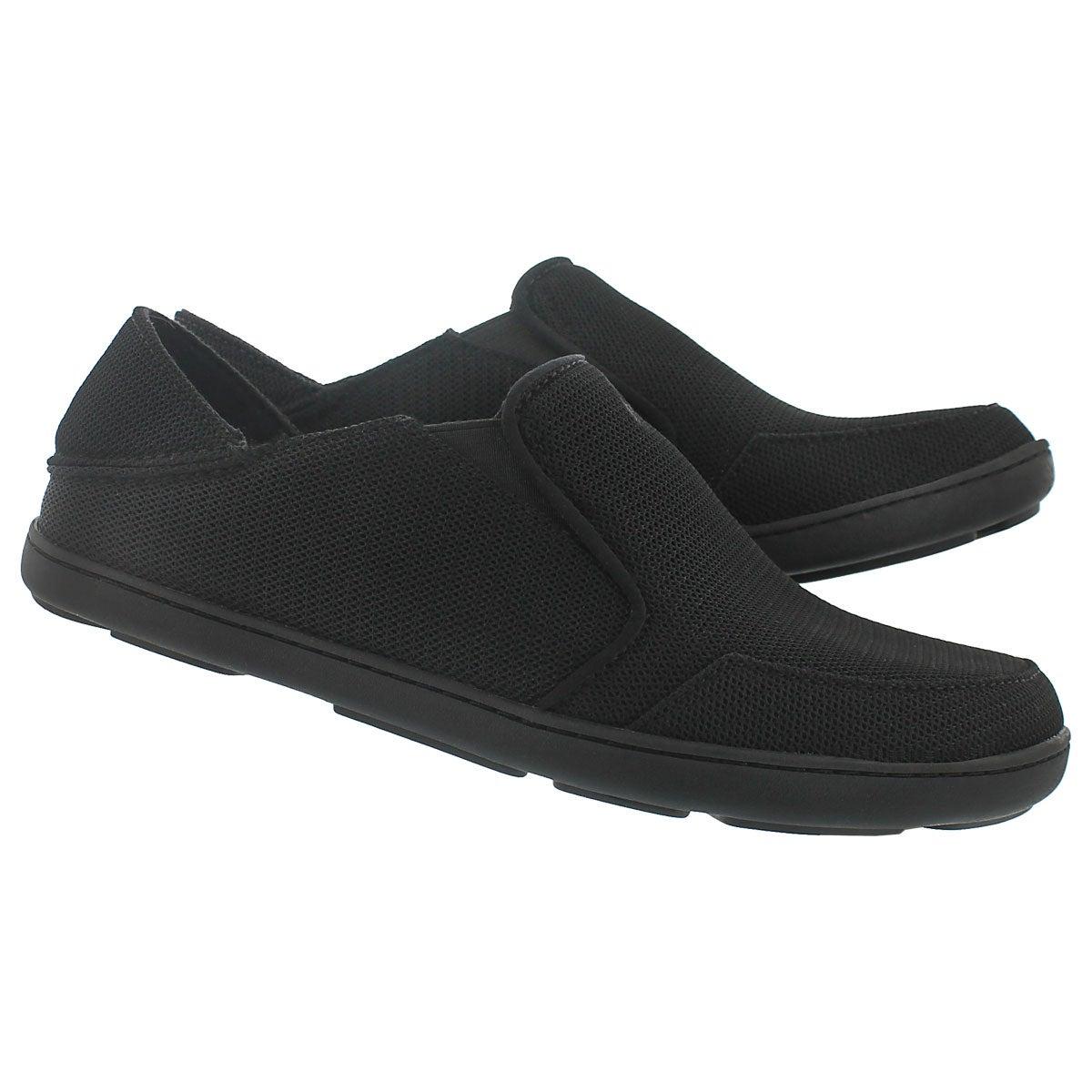 Mns Nohea Mesh onyx slip on casual shoe