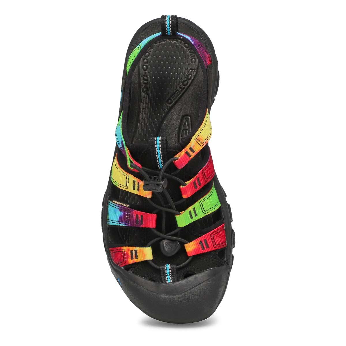 Lds Newport Retro tie dye sport sandal