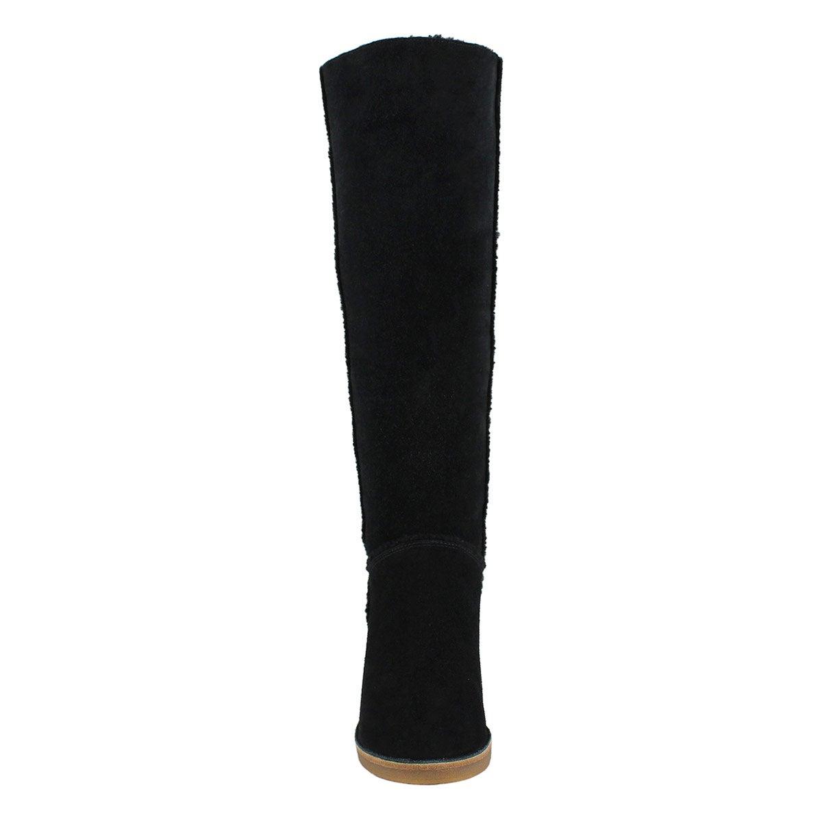 Lds Kasen Tall black knee high boot