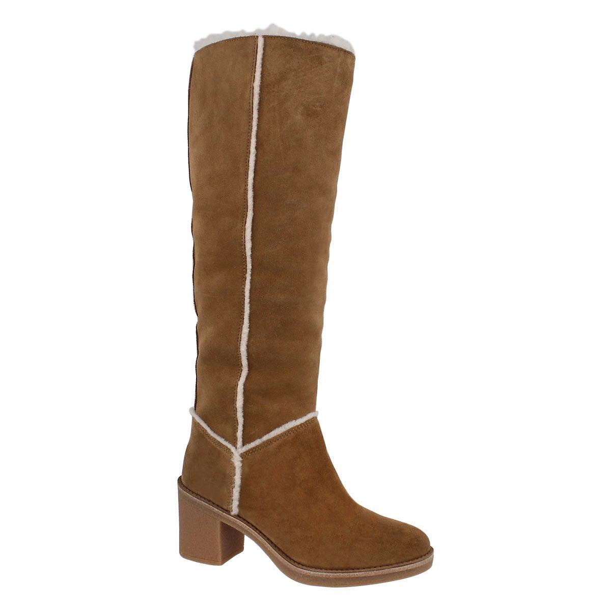 Women's KASEN TALL chestnut knee high boots
