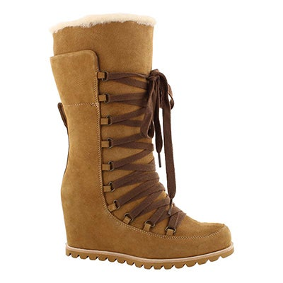 Lds Mason chestnut lace up casual boot