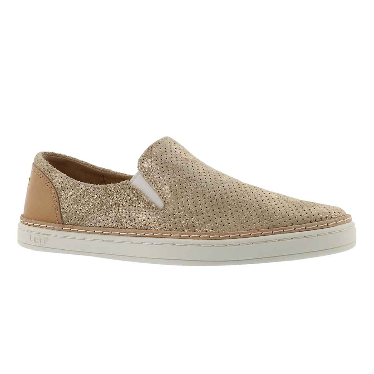 Women's ADLEY PERFORATED STARDUST casual slip ons