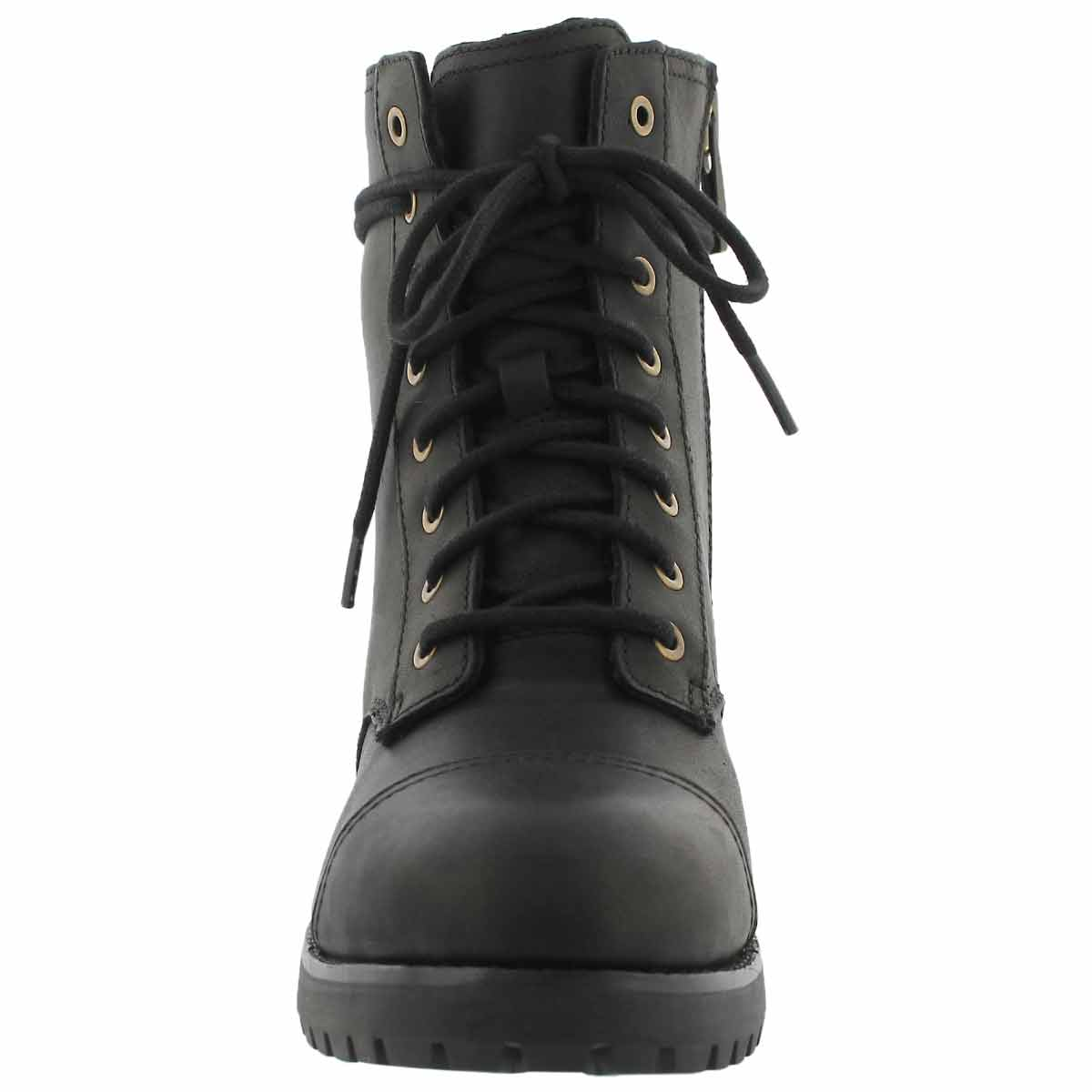 Lds Kilmer black lace up combat boot
