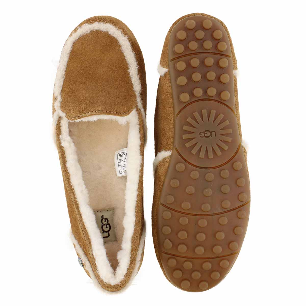 Lds Hailey ches sheepskin moccasin
