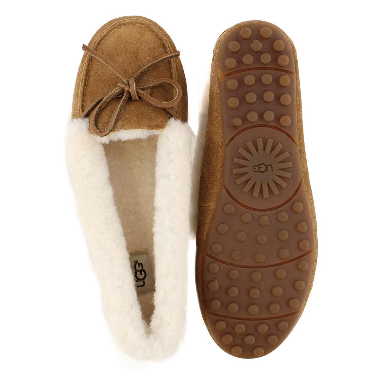 Lds Solana ches shpskn collar moccasin