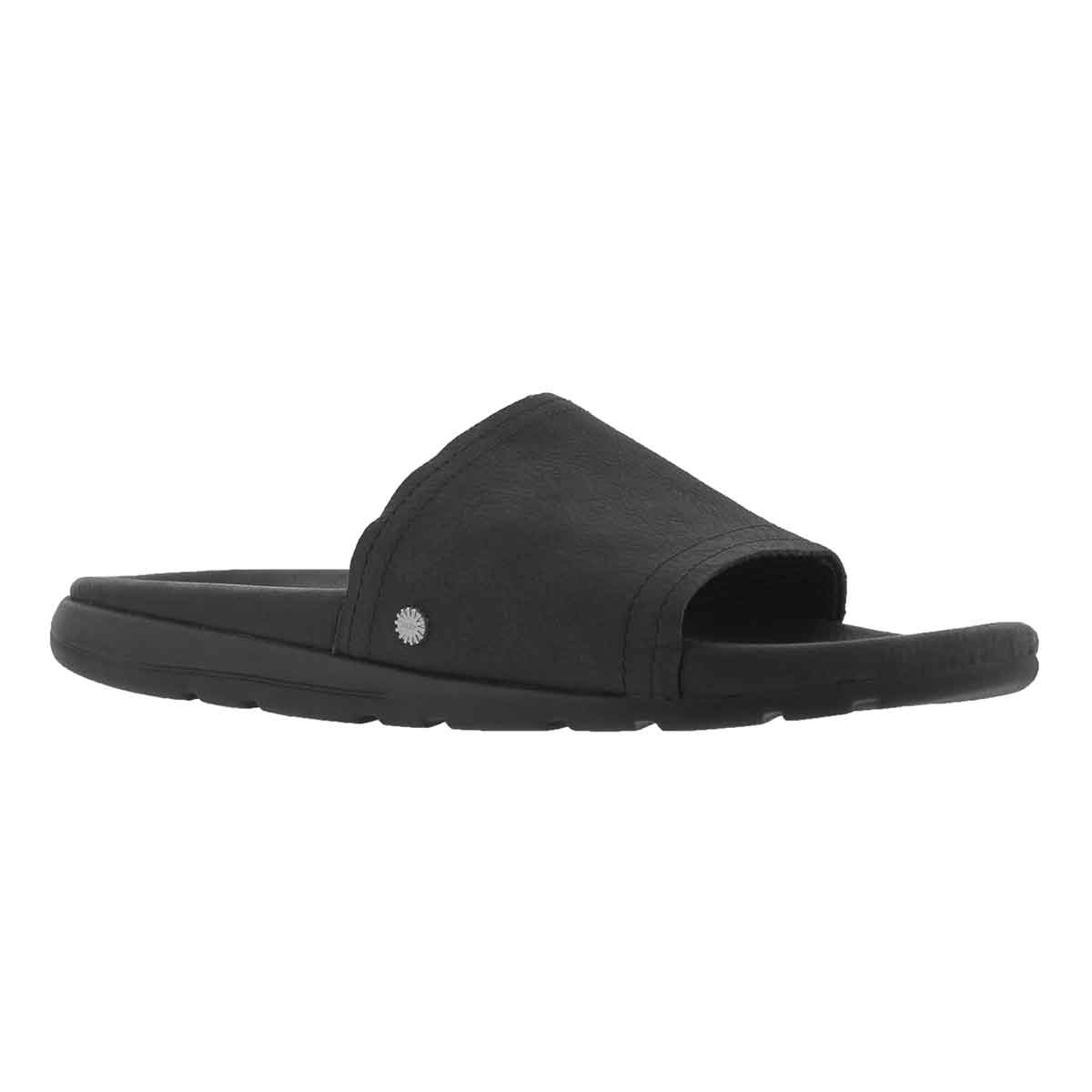 Men's XAVIER LUXE blk casual slide sandals