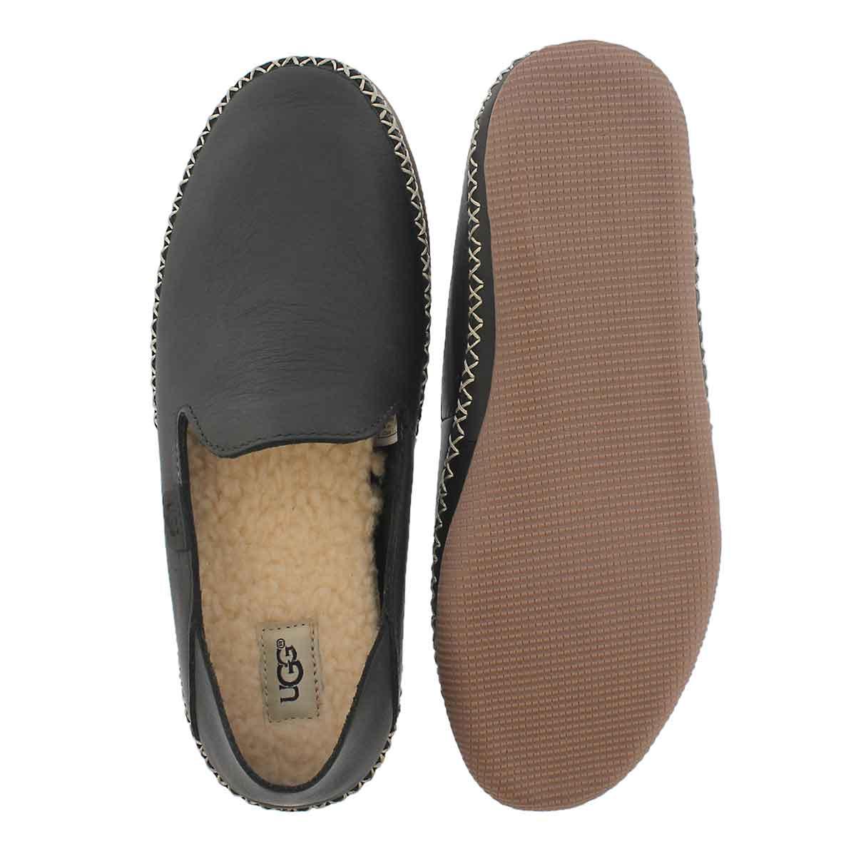 Lds Elodie black casual slip on shoe