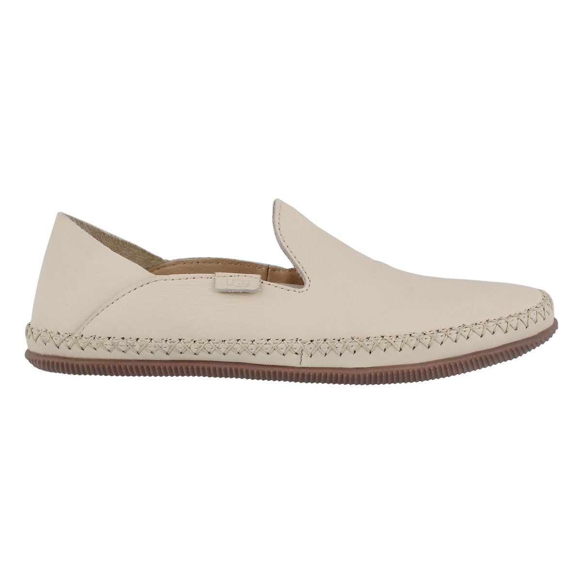 Lds Elodie cream casual slip on shoe