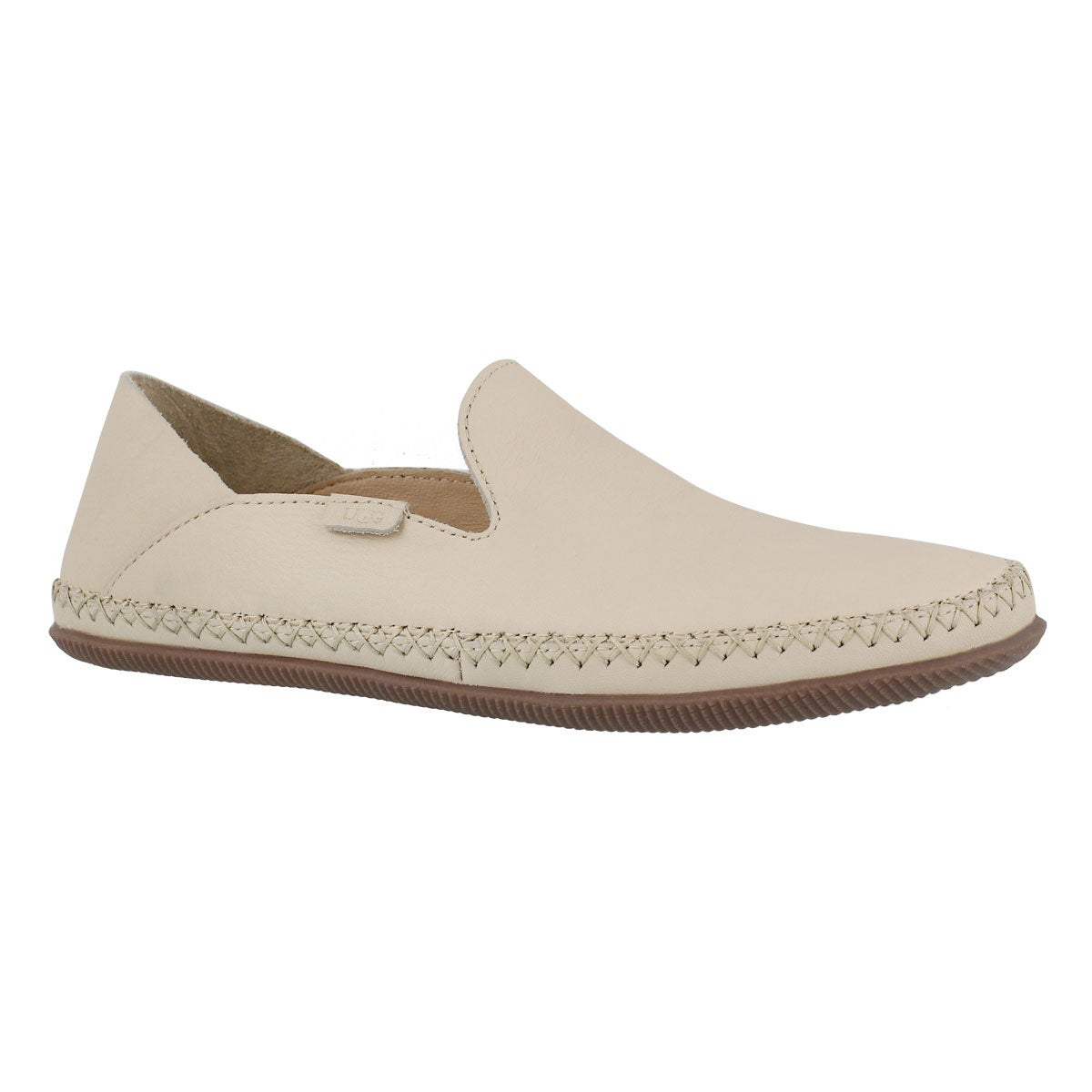 Women's ELODIE cream casual slip on shoes