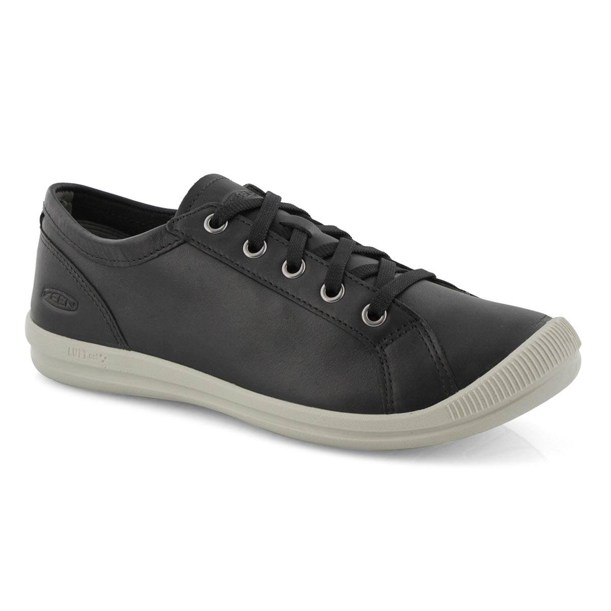Lds Lorelai black casual lace up sneaker