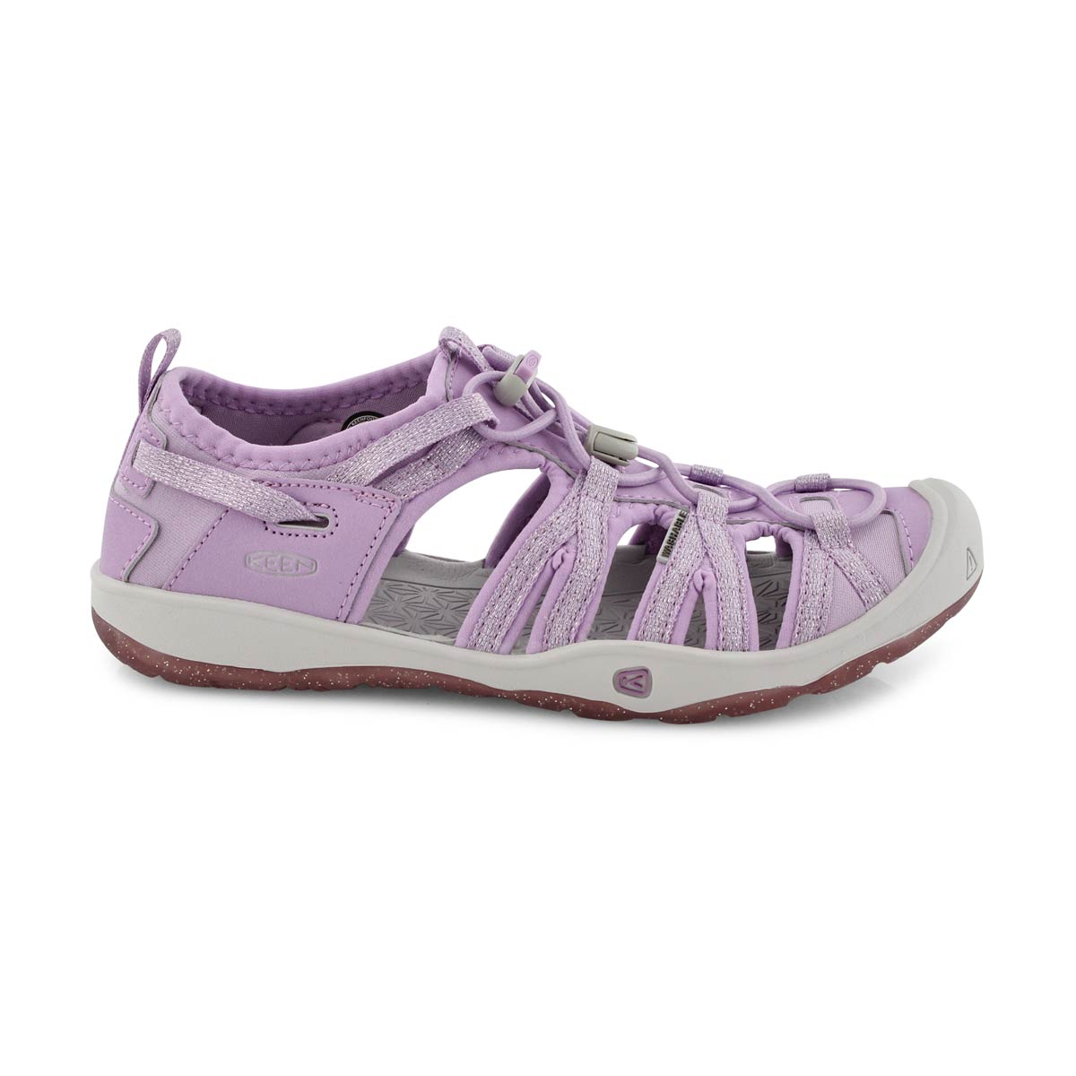 Sandale sport Moxie violet lupin, fille