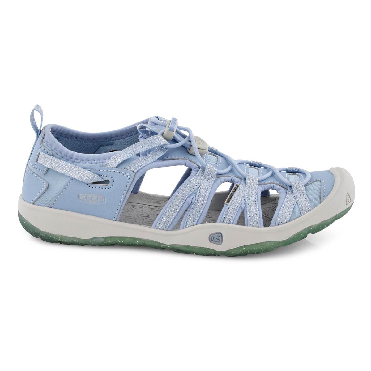 Grls Moxie pwdr blu sport sandal