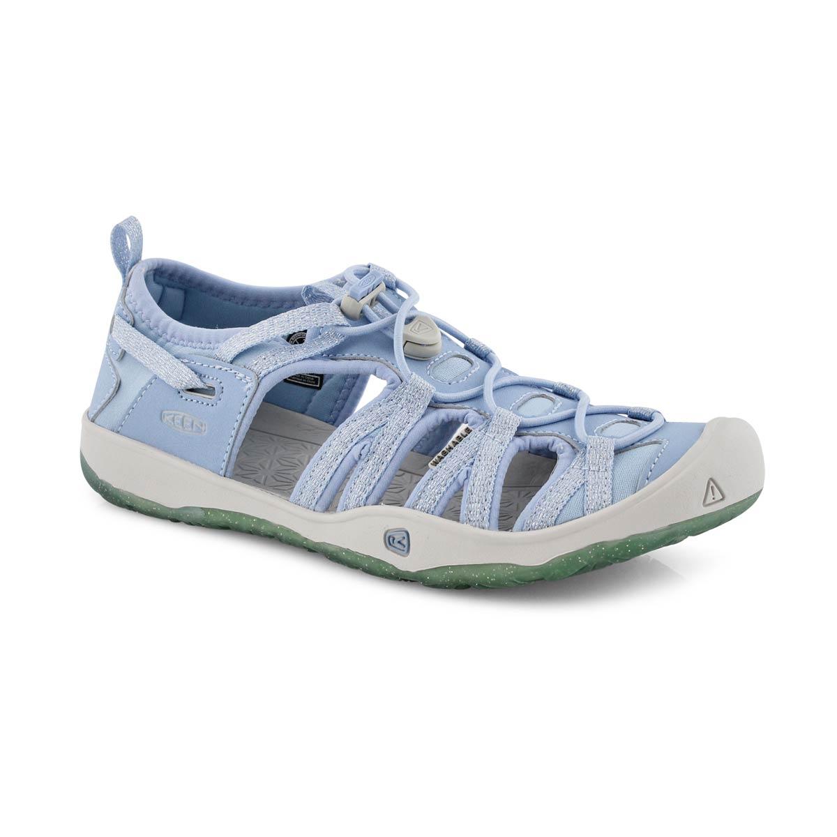 Sandale sport Moxie bleu poudré, fille