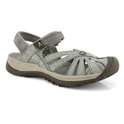 Lds Rose lly pad/celadon sport sandal