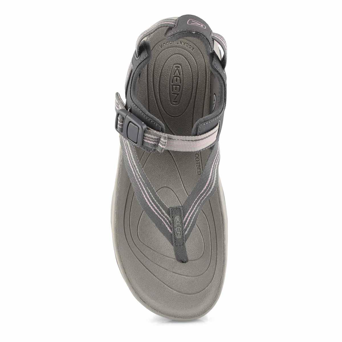 Lds Terradora II Toe Post gry/pk sandal