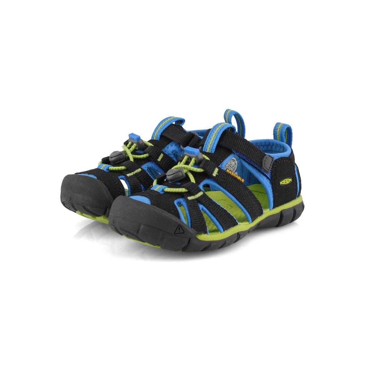 Infs-b Seacamp II CNX blk/blu sport sndl