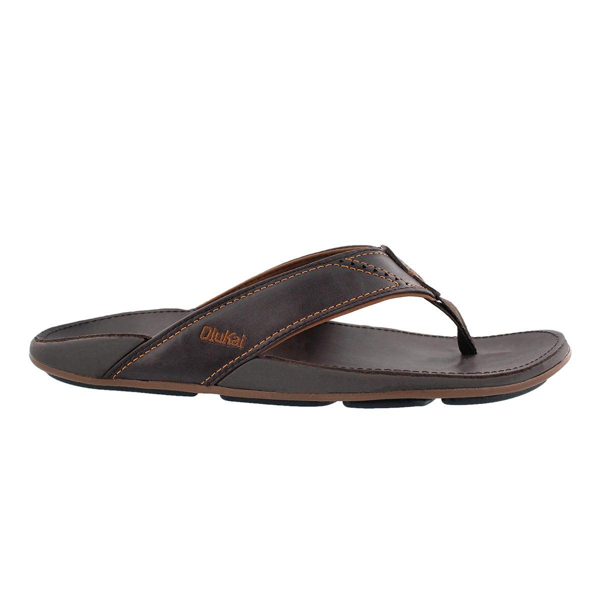 Mns Nui dark java thong sandal