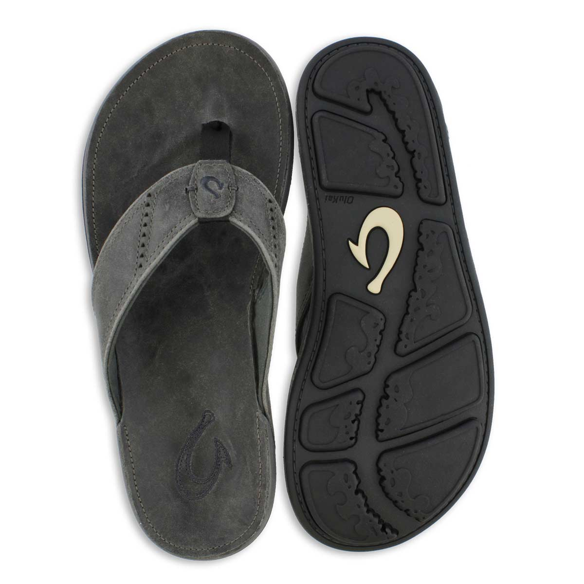 Mns Nui lava rock thong sandal