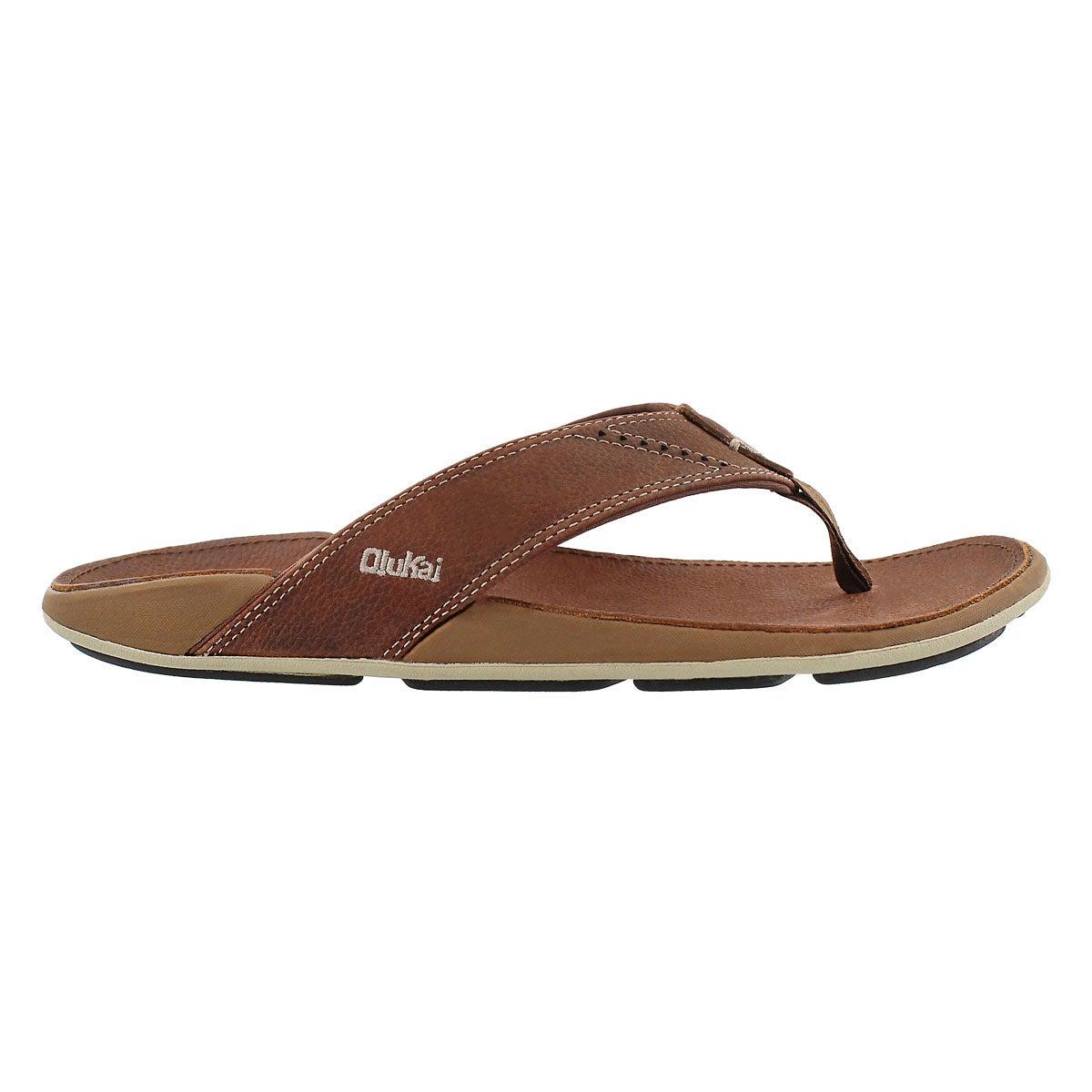 Sandale tong Nui, rhum, hommes