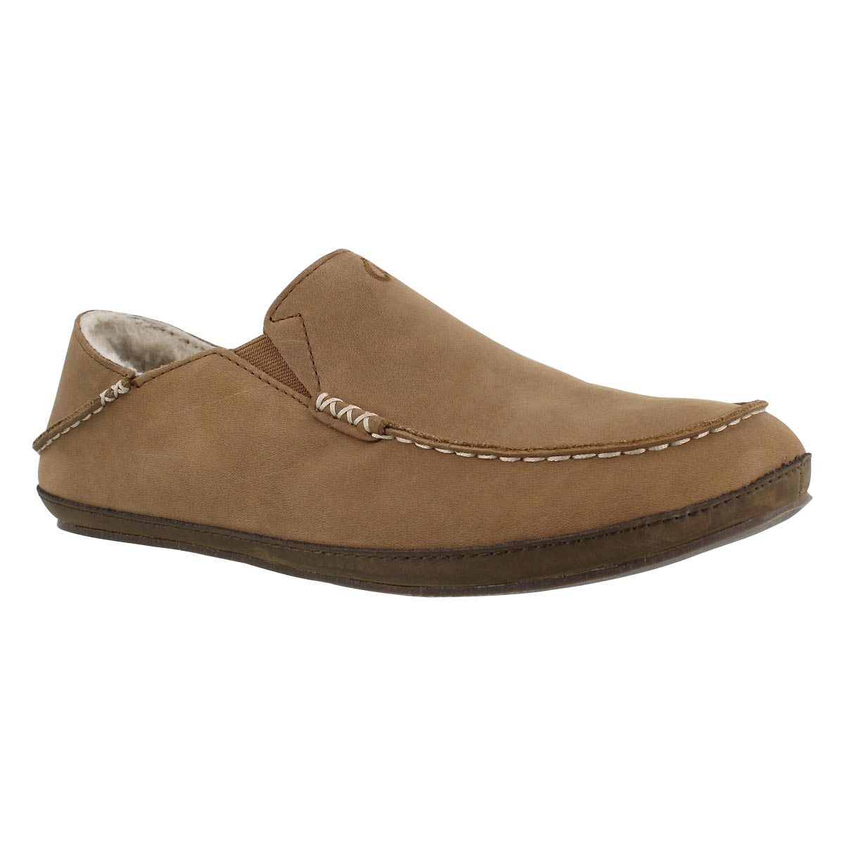 Men's MOLOA toffee drop in heel slippers
