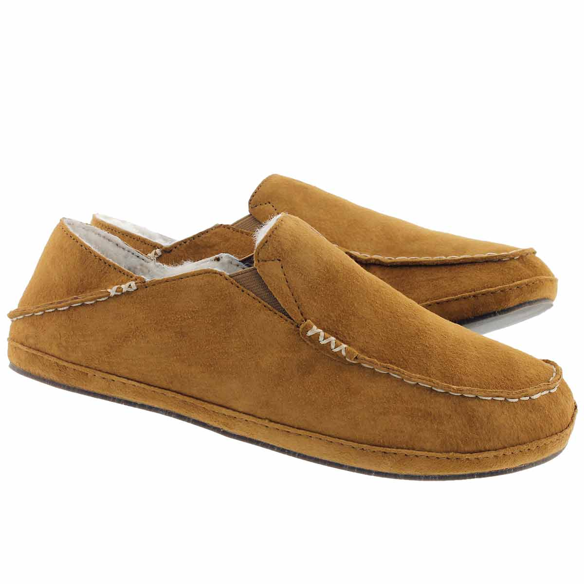 Mns Moloa tobacco drop in heel slipper