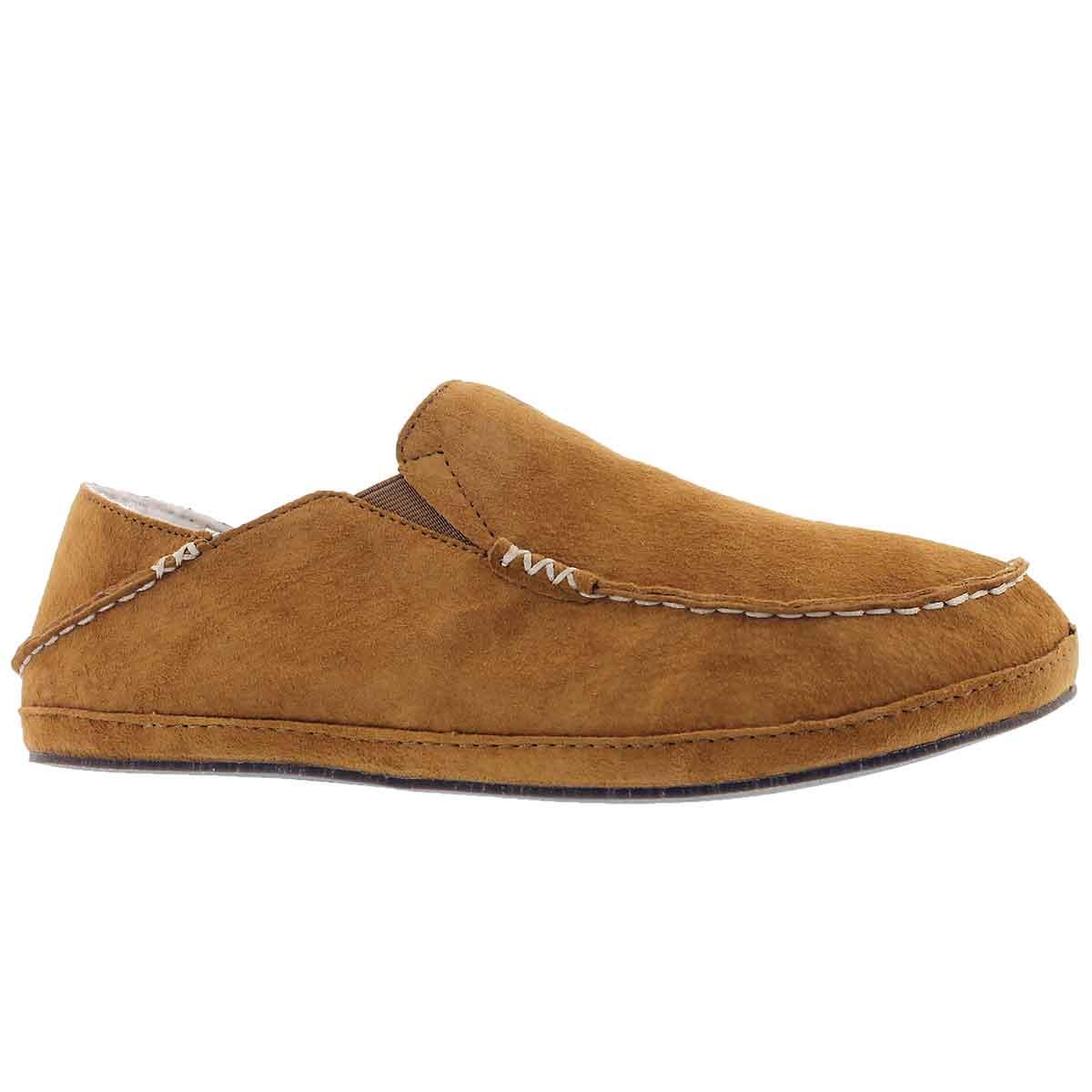 Men's MOLOA tobacco drop in heel slippers