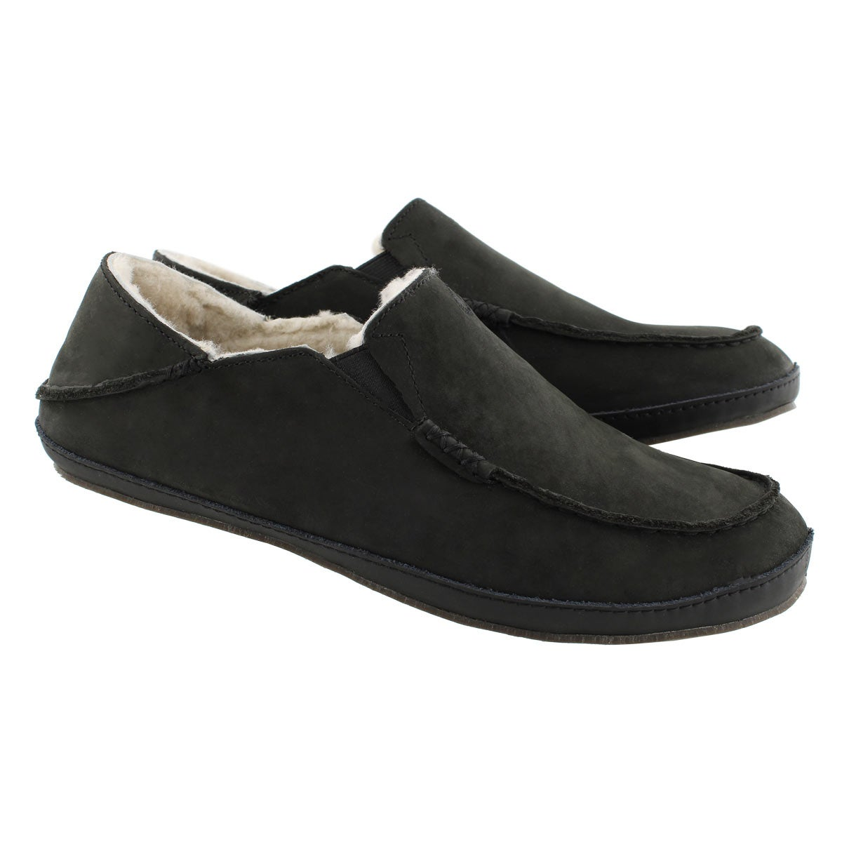 Mns Moloa onyx drop in heel slipper