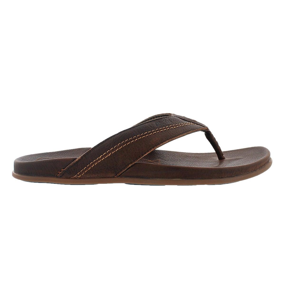 Mns Mohalu teak thong sandal