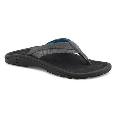 Mns Ohana Koa drk shadow thong sandal