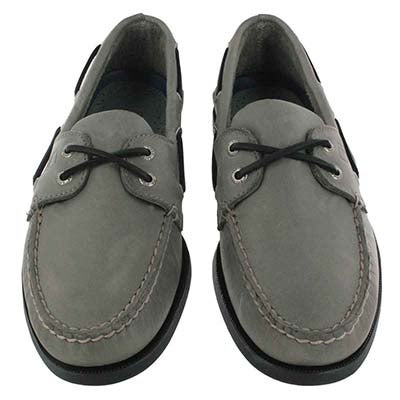 Sperry Top-Sider Men's AUTHENTIC ORIGINAL 2-Eye grey boat shoes