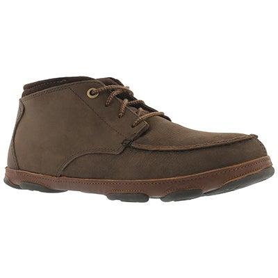 Mns Hamakua dk wood/toffee chukka boot