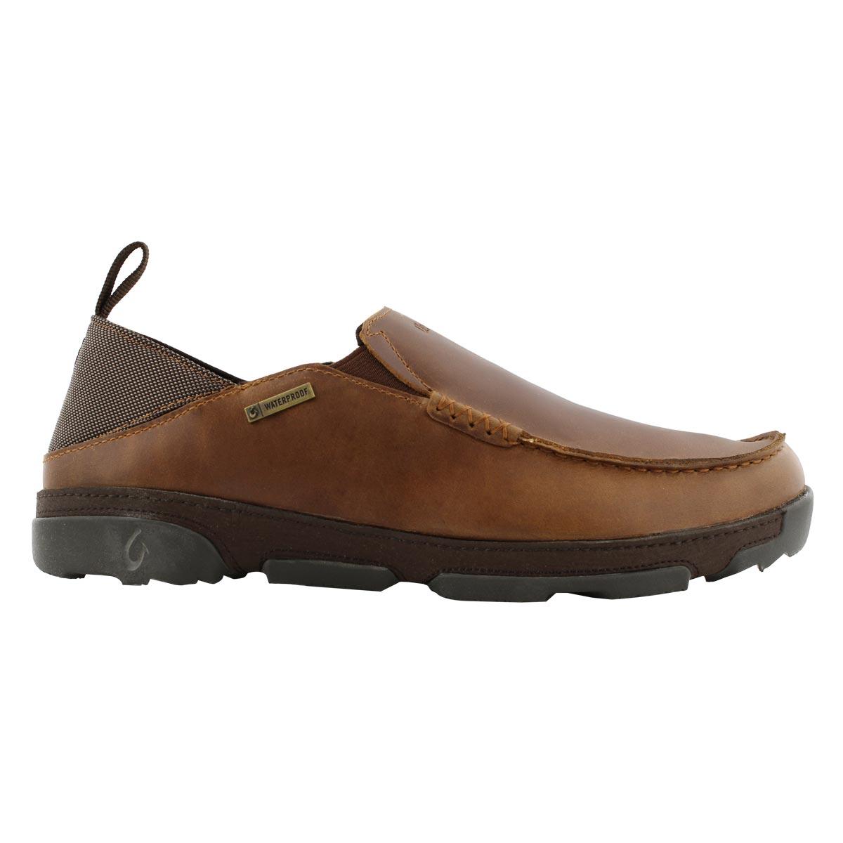 Mns Na'i WP fox/dk wood slipon wtpf shoe