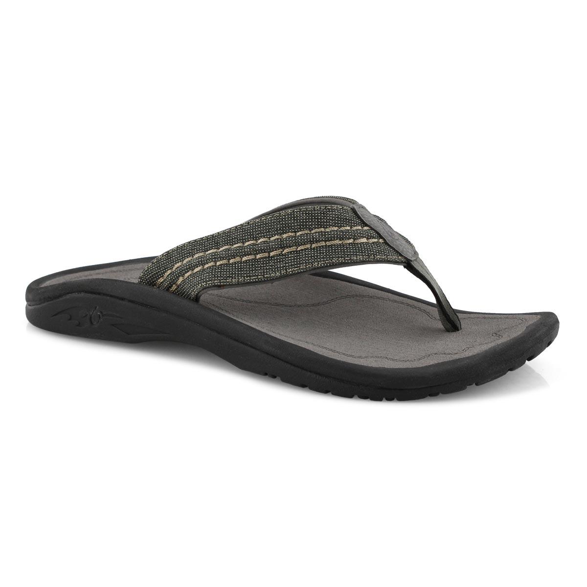 Mns Hokua Mesh clay thong sandal