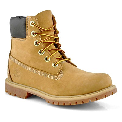 "Timberland Women's PREMIUM 6"" wheat waterproof boots"