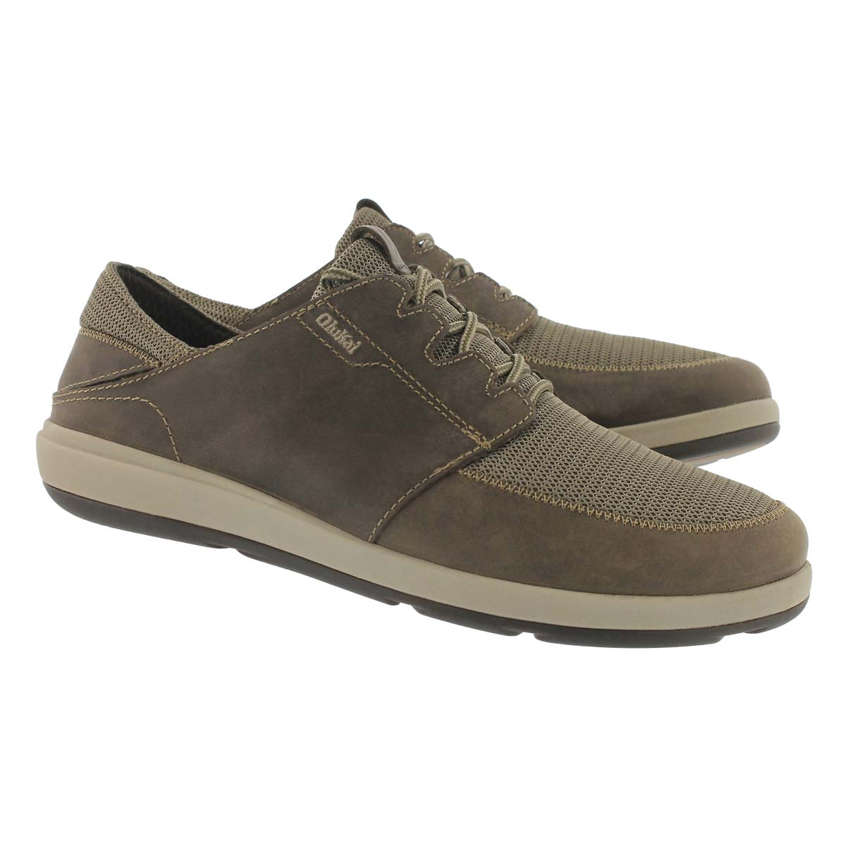 Mns Makia lace clay casual shoe