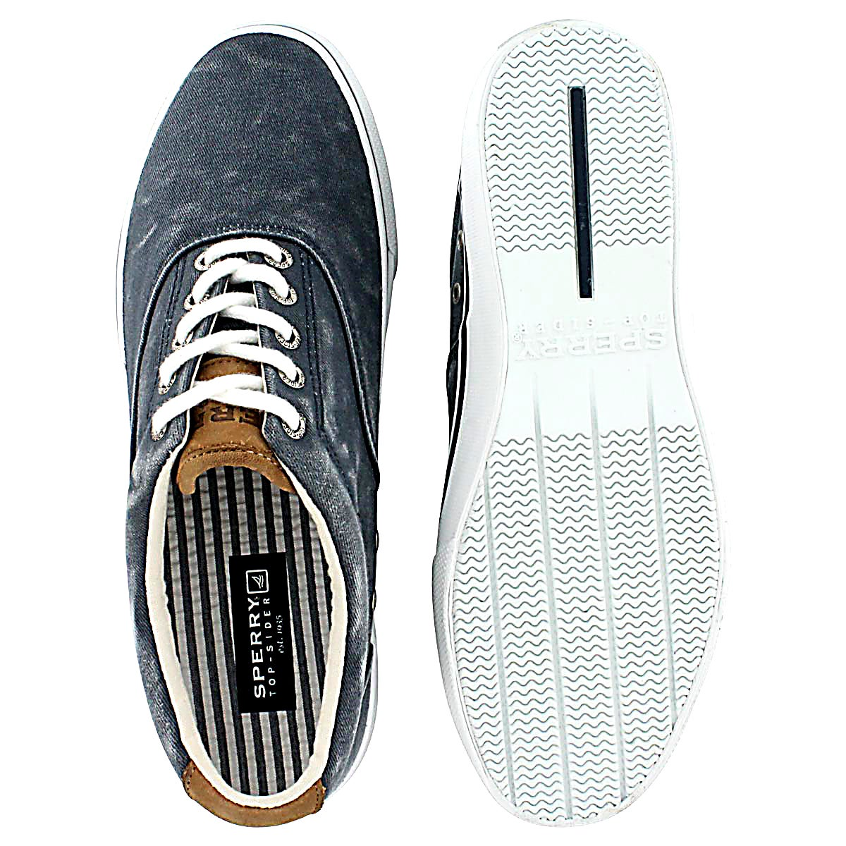 Mns Striper CVO navy sneaker