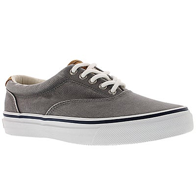Sperry Men's STRIPER CVO SALT WASHED TWILL grey shoes